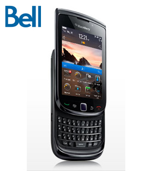 How to unlock Bell Blackberry torch 9800