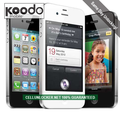 how to unlock koodo iphone