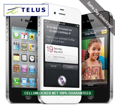 how to unlock telus iphone