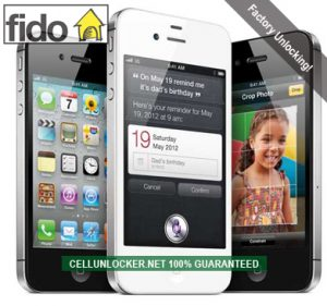 how to unlock fido iphone