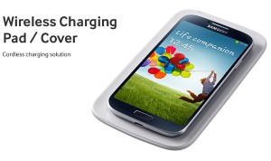 Galaxy S4 charges wireless