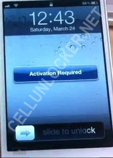 How to activate an iPhone
