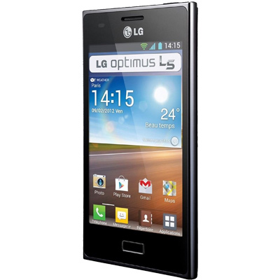 how to unlock lg optimus l5