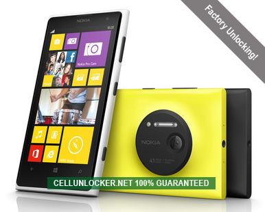 How to Unlock Nokia Lumia 1020