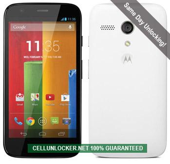Unlock Motorola Moto G, Network Unlock Codes | Cellunlocker Net