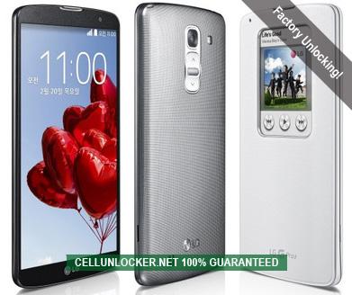 Unlock LG G Pro 2, Network Unlock Codes | Cellunlocker Net