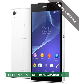 Unlock Sony Xperia, Network Unlock Codes | Cellunlocker Net