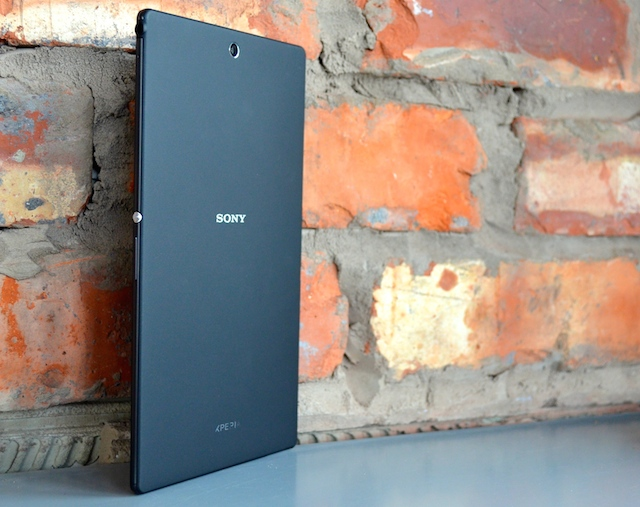 back of sony z3 tablet