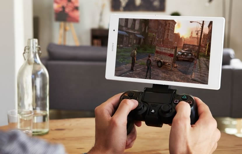 z3 tablet gaming remote play ps4