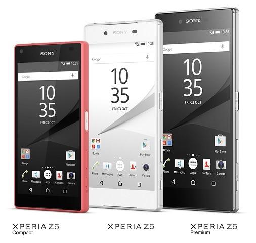 Sony Xperia Z5 Series