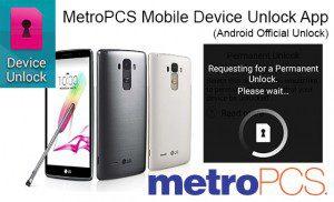 metropcs unlock app