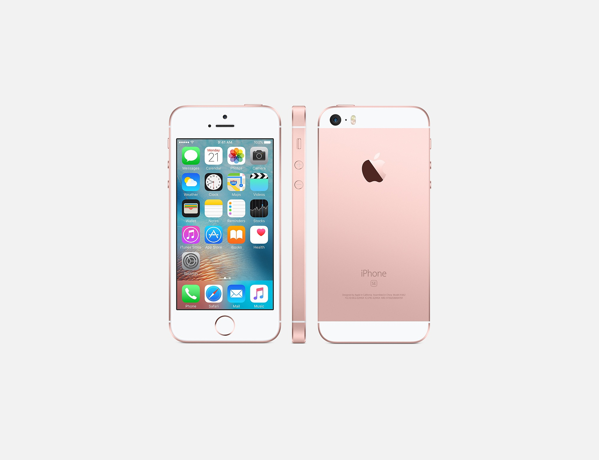 iPhone SE Pink
