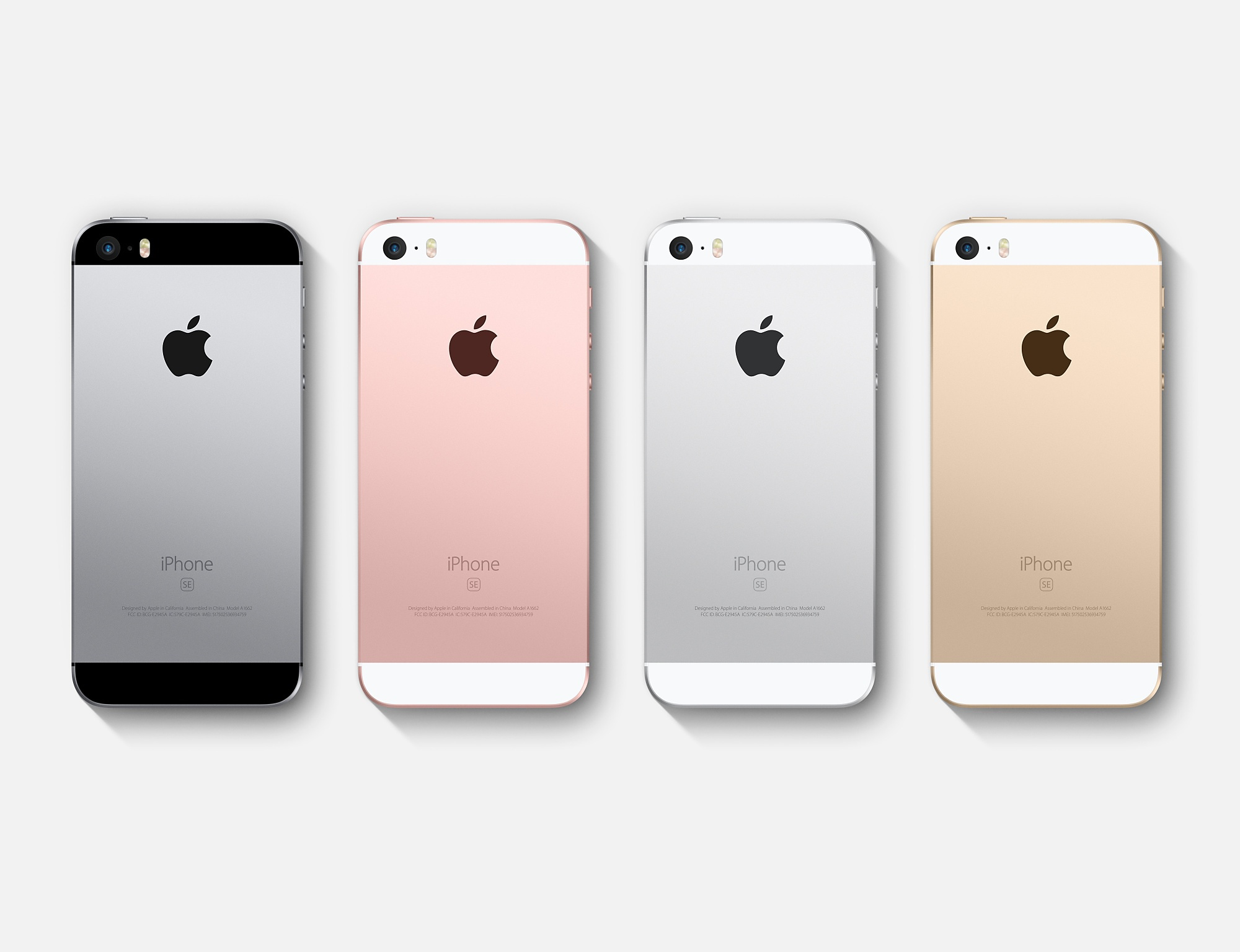 iphone SE multicolours
