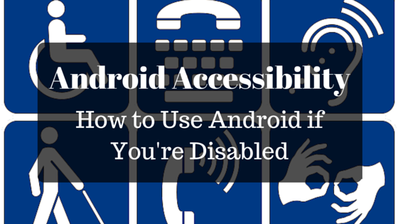 Android Acessability