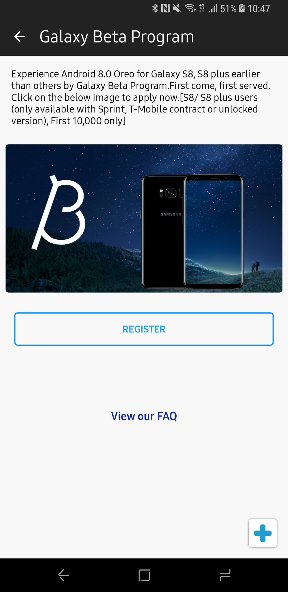 Samsung Galaxy S8 Receives BETA Test Invitation for Android 8 0