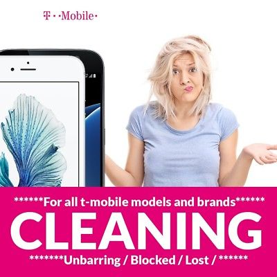 T-Mobile Device IMEI Cleaning Service for Lost/Stolen