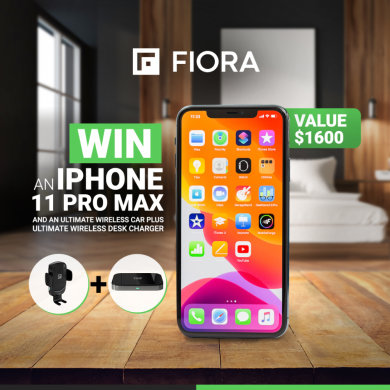 free iphone 11 pro max and wireless car charger contest